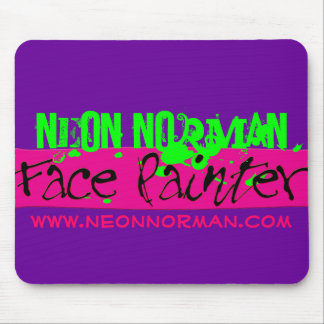 Neon Norman 1 Mouse Pad