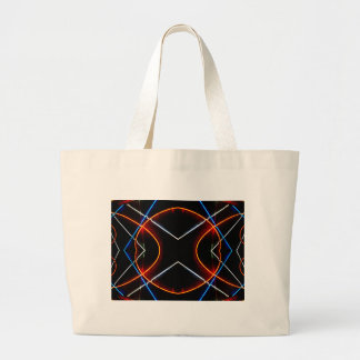 Neon NYC Black and Neon Photographic Art Canvas Bag