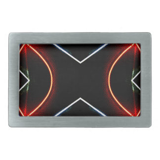 Neon NYC Black and Neon Photographic Art Belt Buckles