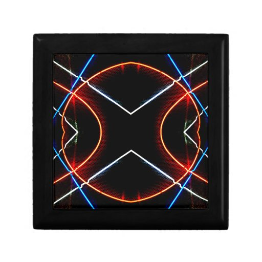 Neon NYC Black and Neon Photographic Art Jewelry Boxes
