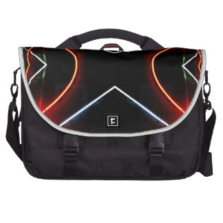 Neon NYC Black and Neon Photographic Art Commuter Bag