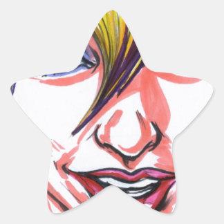 Neon Nymph Star Sticker