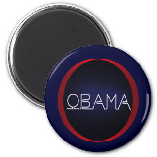 Neon Obama Magnet