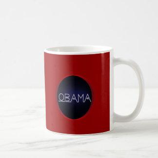 Neon Obama Classic White Coffee Mug