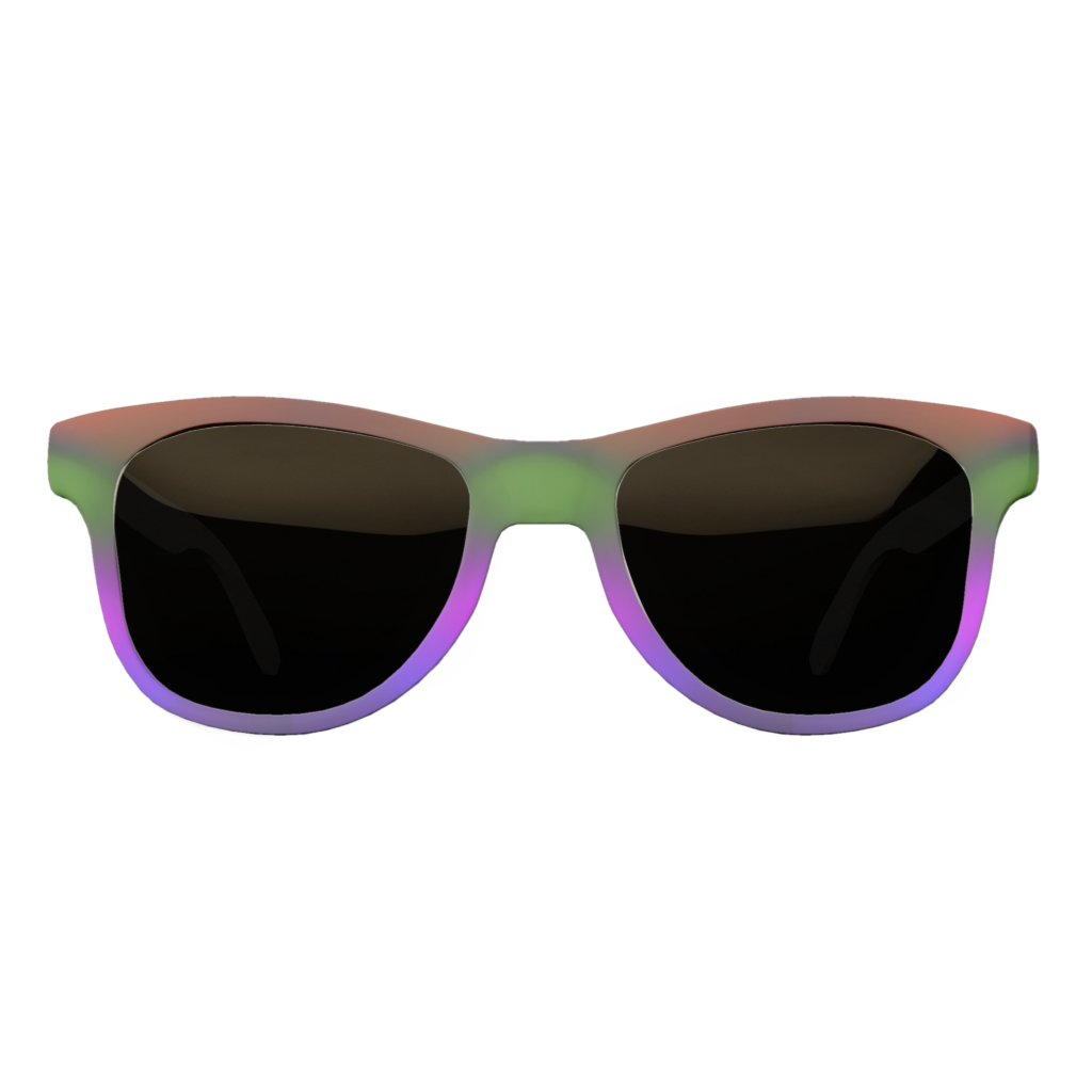 Neon of Blue, Purple, Green & Orange Sunglasses