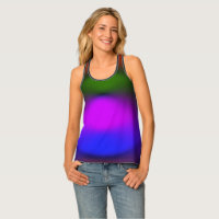 Neon of BPGO All-Over-Print Racerback Tank Top