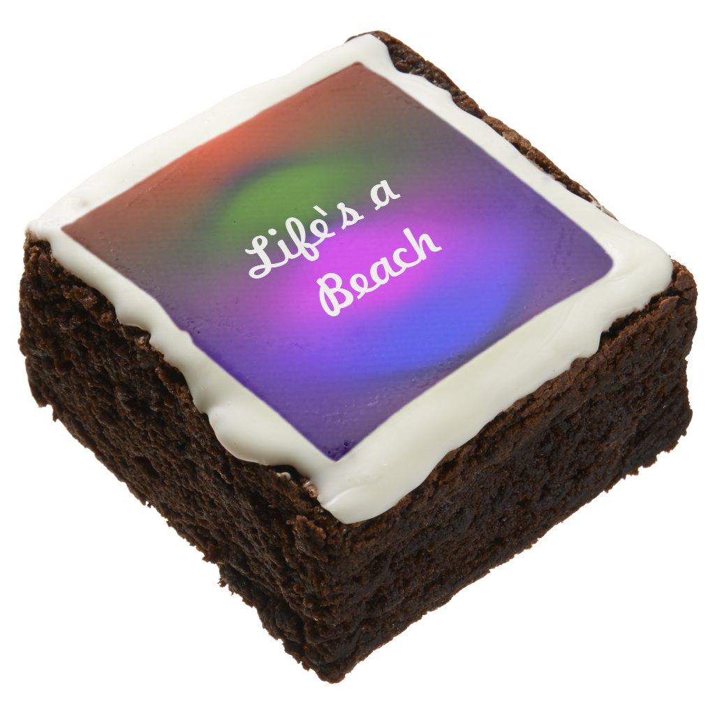 Neon of Colors Life's a Beach Dozen Brownies ZSSPG