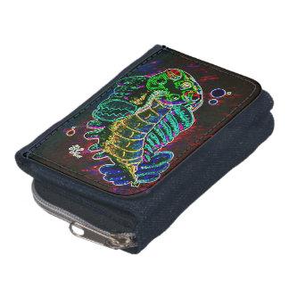 Neon Opabinia Wallet