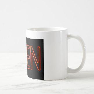 Neon Open Sign Coffee Mug