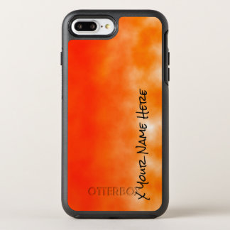 Neon Orange Chemical Glow Look 2 OtterBox Symmetry iPhone 8 Plus/7 Plus Case