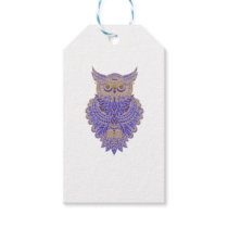 Neon Owl Gift Tags