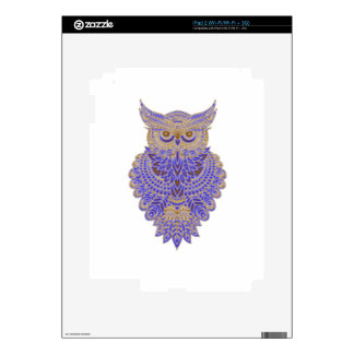 Neon Owl iPad 2 Decal