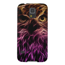 Neon owl of colors case for galaxy s5