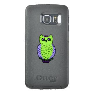 Neon Owl OtterBox Samsung Galaxy S6 Edge Case