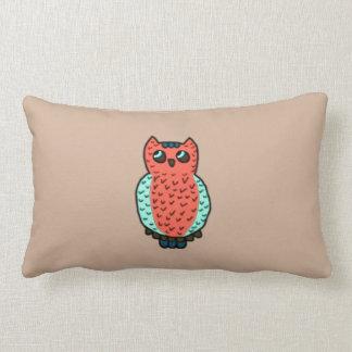 Neon Owl Pillows
