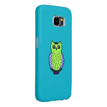 Neon Owl Samsung Galaxy S6 Case