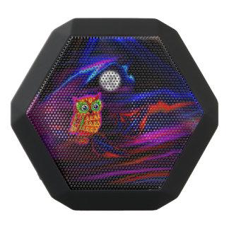 Neon Owl Thunderstorm Flash Black Bluetooth Speaker