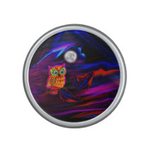 Neon Owl Thunderstorm Flash Bluetooth Speaker