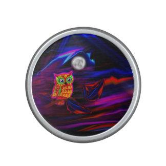 Neon Owl Thunderstorm Flash Bluetooth Speaker