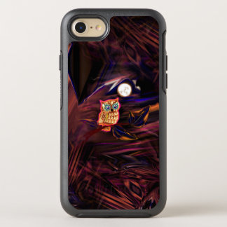 Neon Owl Thunderstorm Flash Fantasia OtterBox Symmetry iPhone 8/7 Case