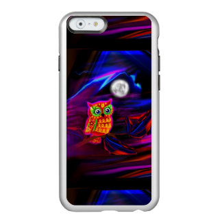 Neon Owl Thunderstorm Flash iPhone Case