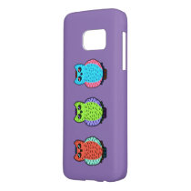 Neon Owls Samsung Galaxy S7 Case