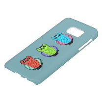 Neon Owls Samsung Galaxy S7 Case