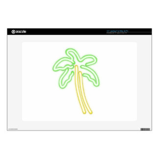 """NEON PALM TREE shirts, accessories, gifts 15"""" Laptop Skins"""
