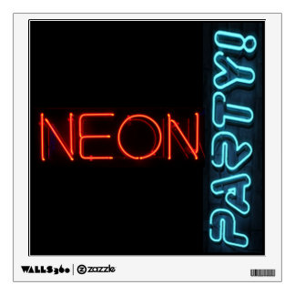 Neon Party Wall Sticker