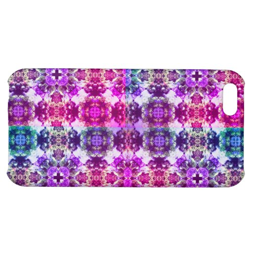 Neon Patchwork Case For iPhone 5C