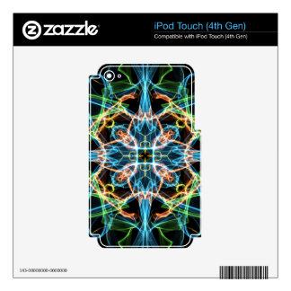 Neon Pattern iPod Touch 4G Skins