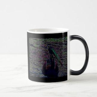 Neon Pelican Magic Mug