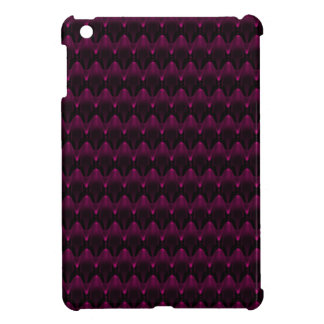 Neon Pink Alien Head Pattern Cover For The iPad Mini