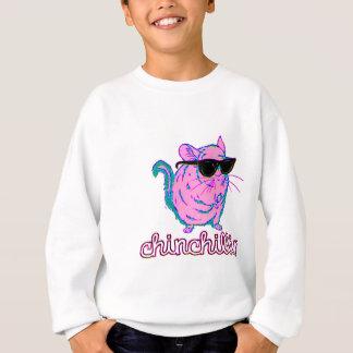 Neon Pink Chinchillin Chinchilla Sweatshirt