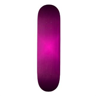 Neon Pink Flash Skateboard Deck
