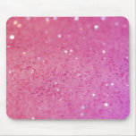 Neon Pink Glitter Sparkle Mouse Pad