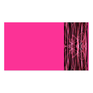 NEON PINK LIGHT PORTAL TIME TRAVEL SPACE DIGITAL A BUSINESS CARD
