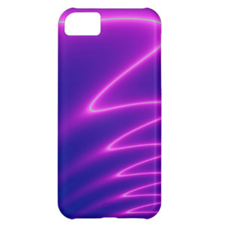 Neon Pink Lightning iPhone 5C Case