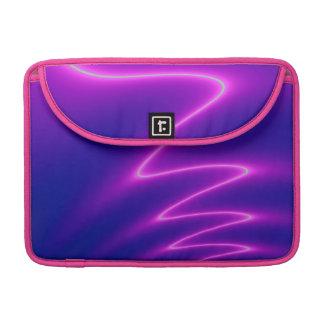 Neon Pink Lightning MacBook Pro Sleeve