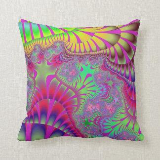 Neon Pink Shell Melt Pillow