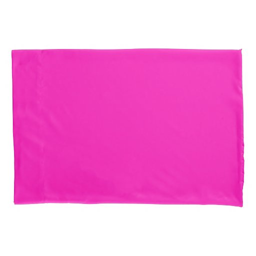 Neon Pink Solid Color ...
