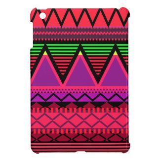 Neon Pink Tribal iPad Mini Cases