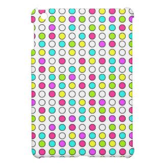 Neon Polka Dots iPad Mini Case