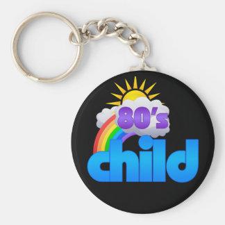 Neon Pop 80s Child Keychain
