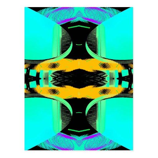 Neon Pop Art Designs 2 CricketDiane Postcards