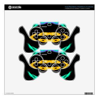 Neon Pop Art Designs 2 CricketDiane PS3 Controller Skin