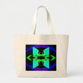 Neon Pop Art Designs CricketDiane Jumbo Tote Bag