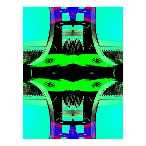 Neon Pop Art Designs CricketDiane Post Cards