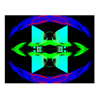 Neon Pop Art Designs CricketDiane Postcard