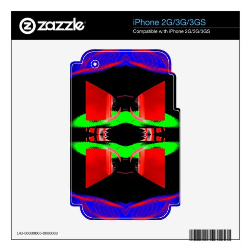 Neon Pop Art Designs Neon Context 3  CricketDiane Decals For iPhone 3